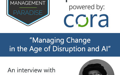 "105: Dr. Mathew Donald – ""Managing Change in the Age of Disruption and AI"""